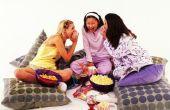 Het plannen van Prom activiteiten voor tieners