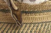 Hoe een gras-mand weven