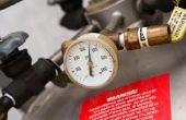 Hoe om te kalibreren van een Bourdon buis manometer