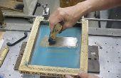 Hoe maak je een zelfgemaakte zeefdruk