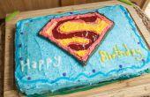 Hoe maak je een Cake van de kindverjaardag Superman