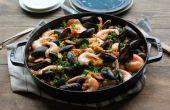 Hoe maak je vis Paella