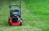 Het oplossen van een grasmaaier Troy Bilt