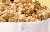 Kunt u karamelsaus op Popcorn?