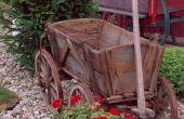 Hoe te Versier een houten Wagon for Christmas