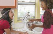 Hoe u koppelt een verscheurend gehechtheid aan een KitchenAid Mixer