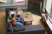 Hoe vindt u het juiste TV formaat voor een kamer