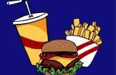 Hoe werkt een fastfood-kassa