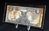 Hoeveel Is een 1928 één Dollar Silver certificaat waard?