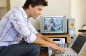 Het gebruik van een Laptop naar Record van de TV