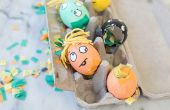 Gemakkelijk Halloween decoraties voor kinderen om te maken
