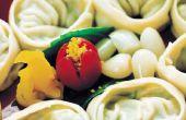 Hoe te bevriezen Wontons & Dumplings