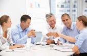 Doel van de groep werk-teambuilding