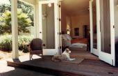 Hoe te te verfraaien een veranda voor een buiten bruiloft