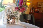 Woonkamer bruiloft decoraties