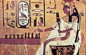 Oude Egyptische Kinder kapsels