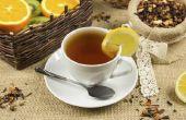 Voordelen van citroen in thee