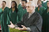Waarom draag predikanten gewaden in kerk?