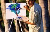 Palm Tree schildertechnieken