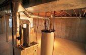 Goedkope manieren om de afwerking van de wanden van de kelder & plafonds