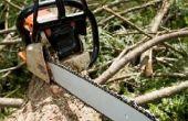 Instrumenten die worden gebruikt door houthakkers
