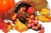 Thanksgiving Cornucopia Crafts for Kids