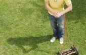 Het oplossen van een Task Force Reel grasmaaier