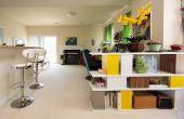 Hoe te te verfraaien van een lange, smalle woonkamer