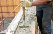 Hoe om erachter te zand grind Cement in een kubieke Yard van beton