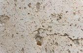 Concrete zure vlek problemen