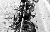 Opzoeken van de VIN-nummer voor een motorfiets uit de jaren ' 70