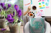 Hoe om te ontstressen met behulp van deze kalmerende kunst projecten