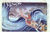 De effecten van de tsunami's op het Land