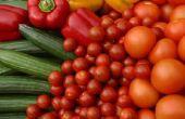 De beste verse plantaardige Snacks