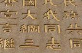 Hoe te Chinese woorden spreken