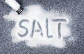 Natrium niveaus van de zee zout Vs. keukenzout