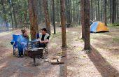 Hoe Versier je klas deur voor een Camping thema