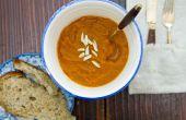 Hoe te verwijderen van schuim & schuim van Vitamix soep