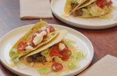 Hoe maak je grond Turkije Tacos
