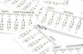 Hoe maak je een Flip kalender