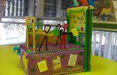 Strategieën voor het verfraaien van een schoenendoos Parade Float Project voor kinderen