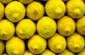 Het verfraaien met citroenen
