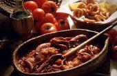 Hoe om te koken & eten van de inktvis
