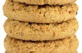 Hoe te vervangen door appelmoes voor boter in havermout koekjes