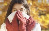 Koude symptomen voor 2 weken