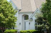 Ideeën voor een witte buitenkant huis kleur