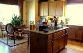 Hoe maak je een eenvoudige keuken eiland voor vergadering