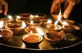 How to Make Diwali Diva lampen