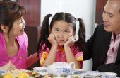 Hoe kleuren menu's voor kinderen