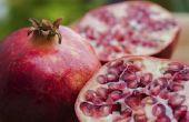 Hoe bewaart u granaatappels